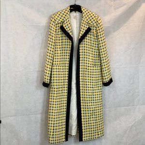 ❤️WD.NY Vintage Open Front Duster Jacket Sz. 8